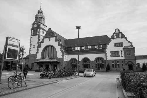 Kulturbahnhof Bad Homburg