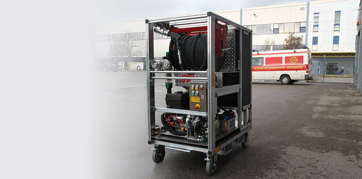 Callies Cart System – The World's Most Flexible Fire-Extinguishing System